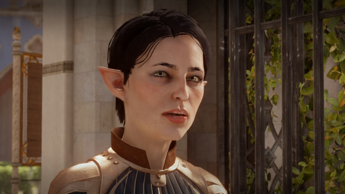 "Enchanter Fiona as she appeared in ""Dragon Age: Inquisition."""
