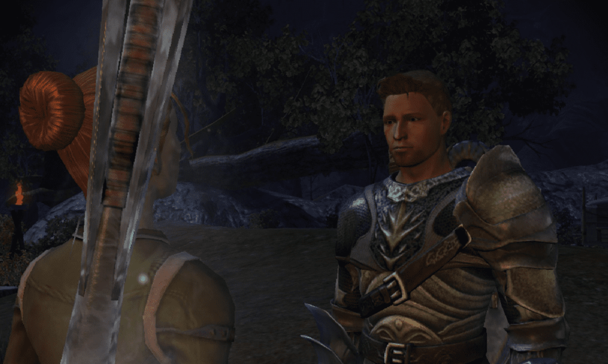Alistair and mage Warden.