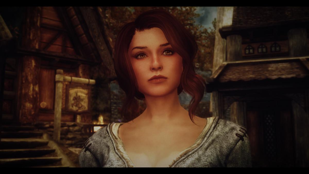 How Ysolda appears in the Bijin Wives mod.
