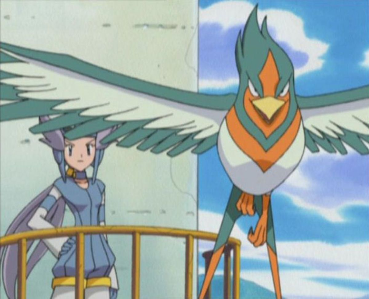 Winona and Swellow