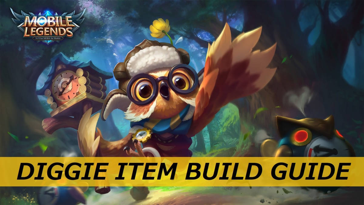 """Is Diggie one of your favorite characters in """"Mobile Legends""""? Learn about the most effective items to equip Diggie with in the game!"""
