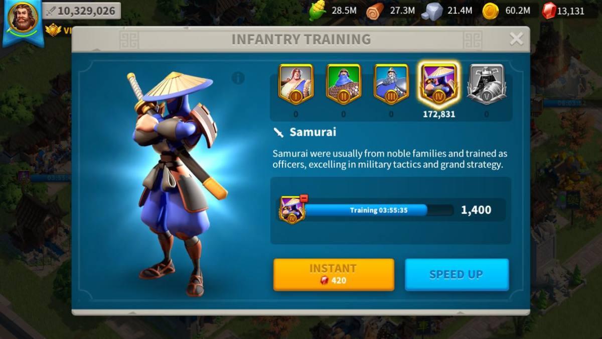 Training Samurai in the Barracks