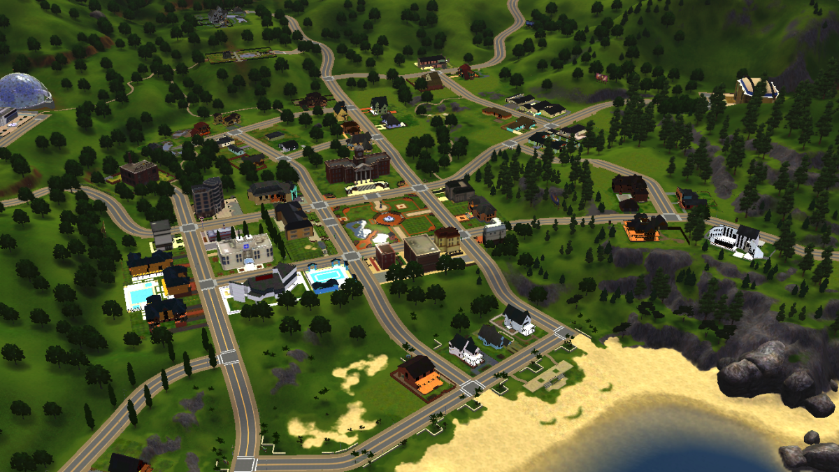 The Sims 3 has an open world, free for your Sims to explore without encountering loading screens from lot to lot.