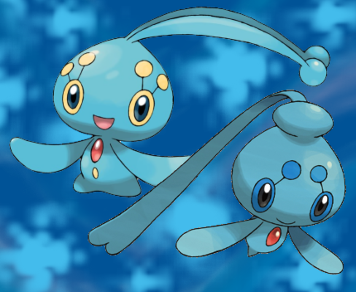 Manaphy and Phione