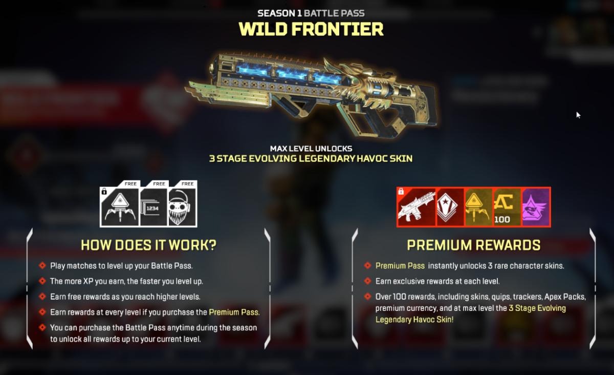 Wild Frontier Battle Pass