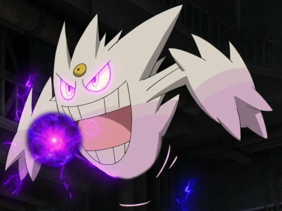 Shiny Mega Gengar