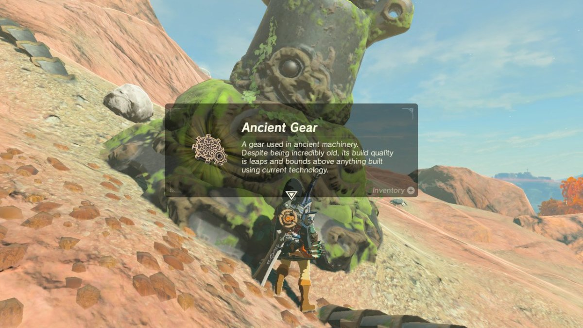Don't sell Ancient Parts during the early game—you'll need them to level up important things.