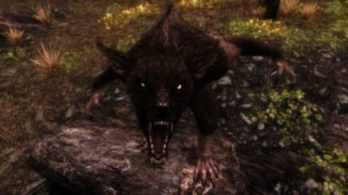 An awesome werewolf mod found on nexus.
