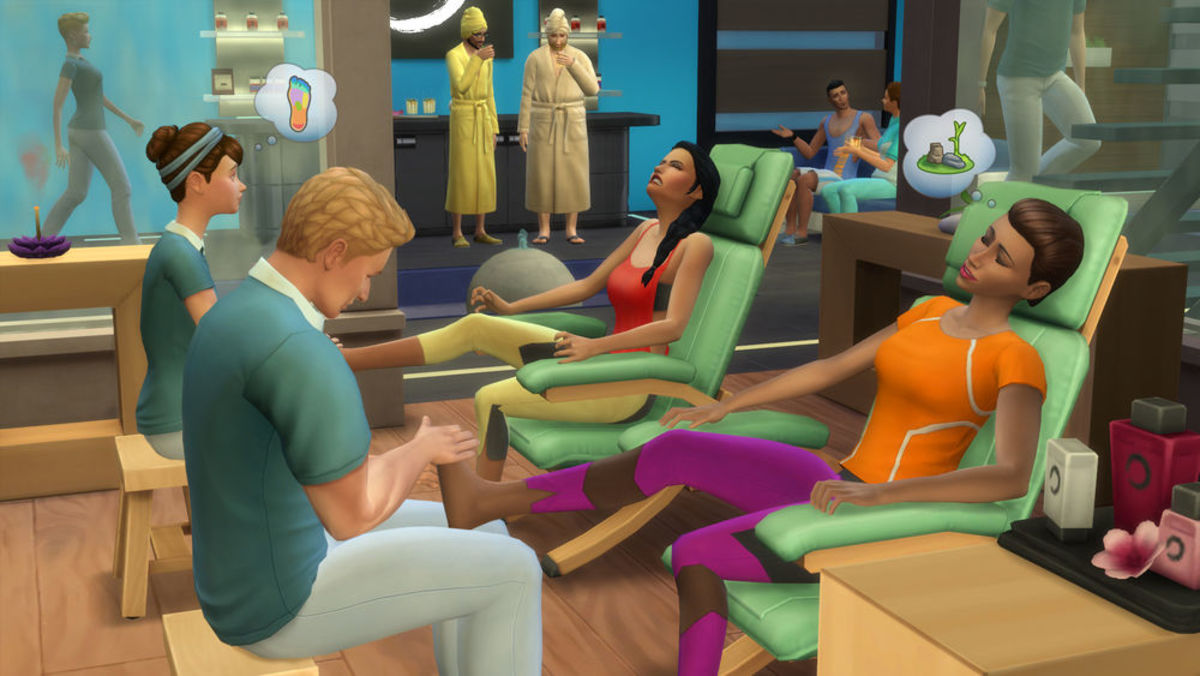 """The Sims 4: Spa Day"""