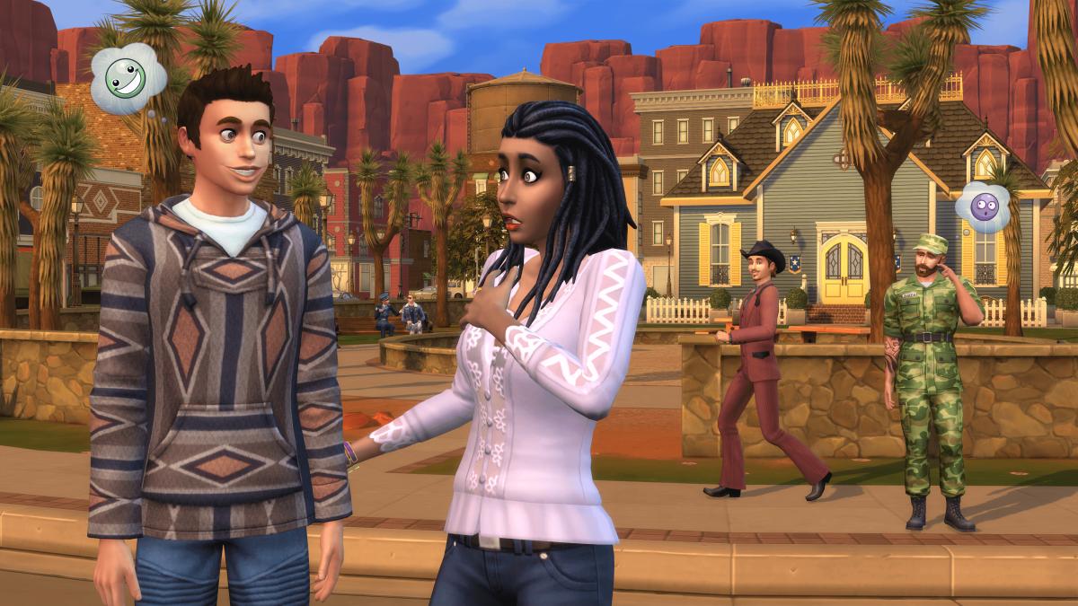 """The Sims 4: StrangerVille"""