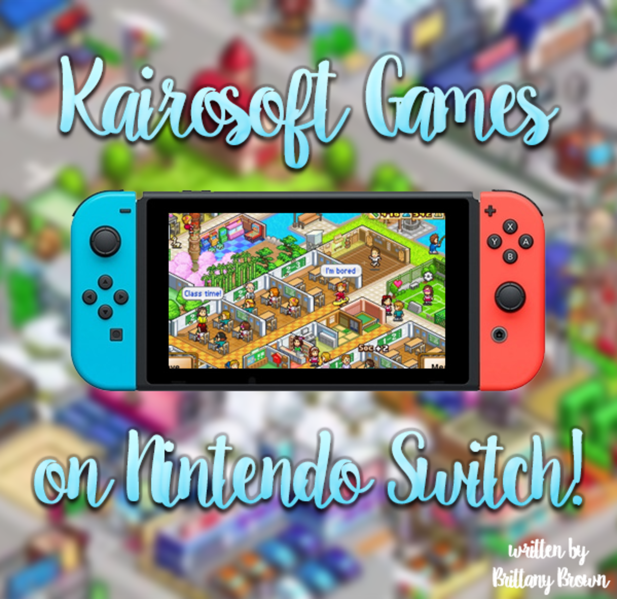 All of the Kairosoft games on Nintendo Switch!