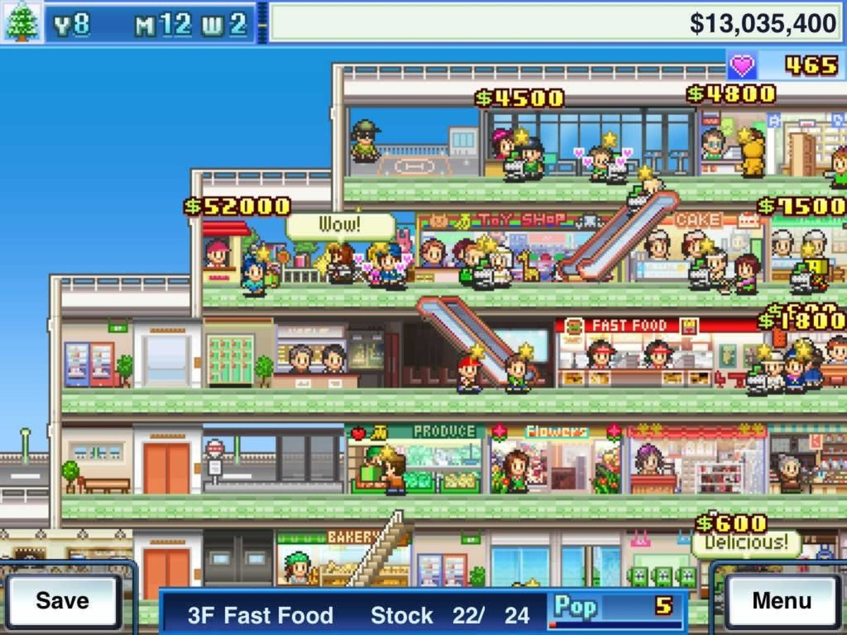 """Make your own skyscraper mall with """"Mega Mall Story"""" on Nintendo Switch!"""