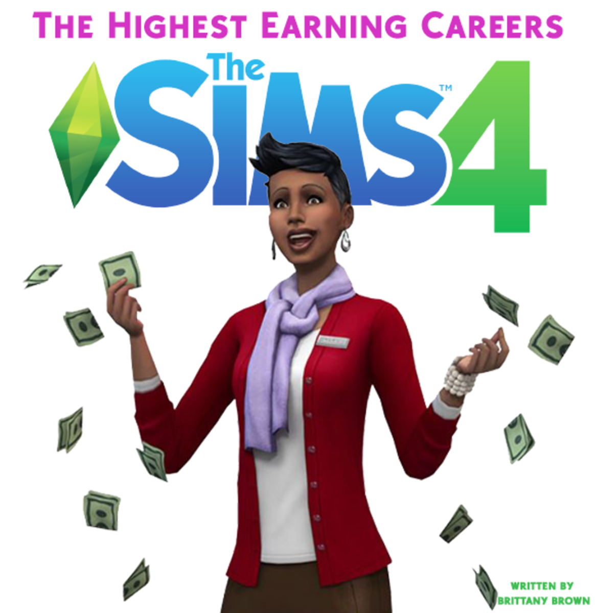 The Best and Highest Earning Jobs in The Sims 4!