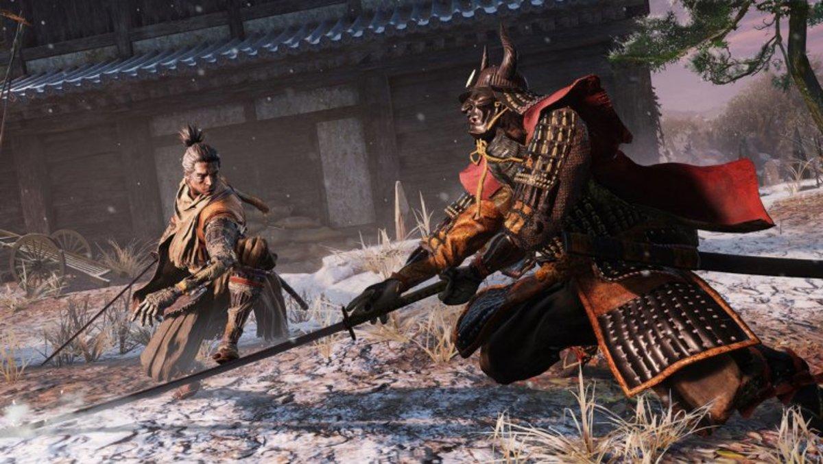 Wolf Versus Samurai—Good Luck