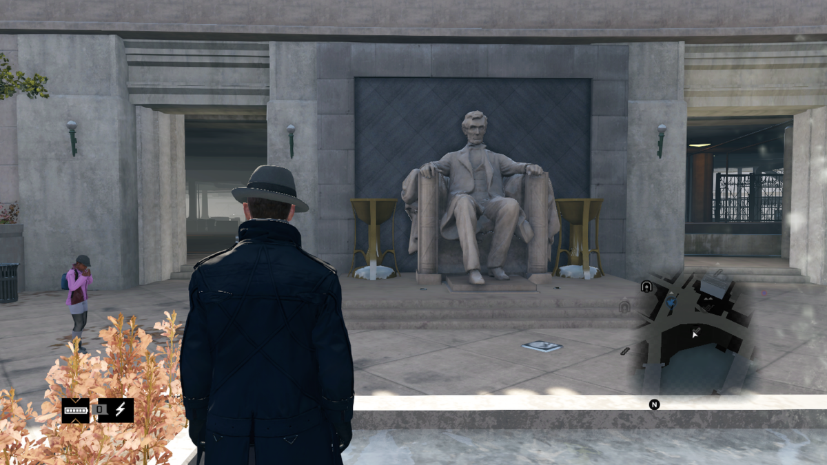 "Watch Dog's version of ""Seated Lincoln""."