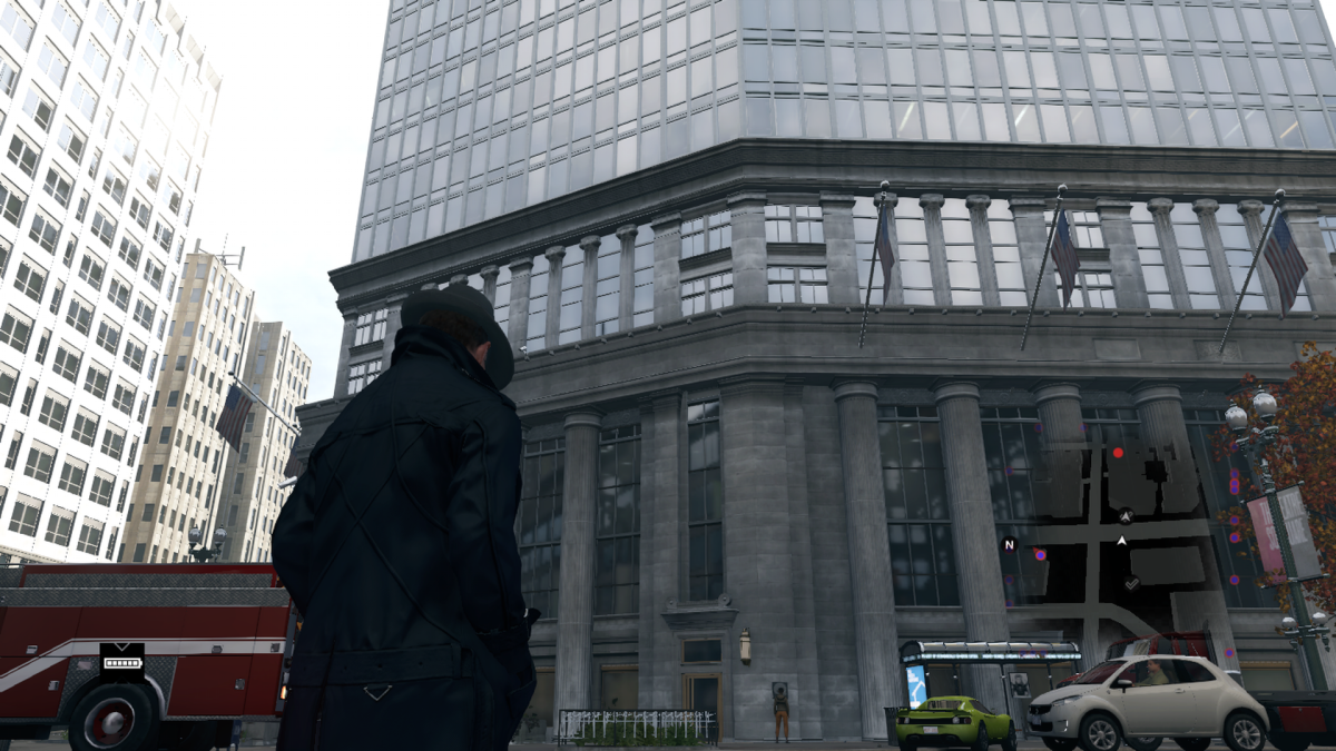 The location depicted in Watch Dogs. Also a street corner?