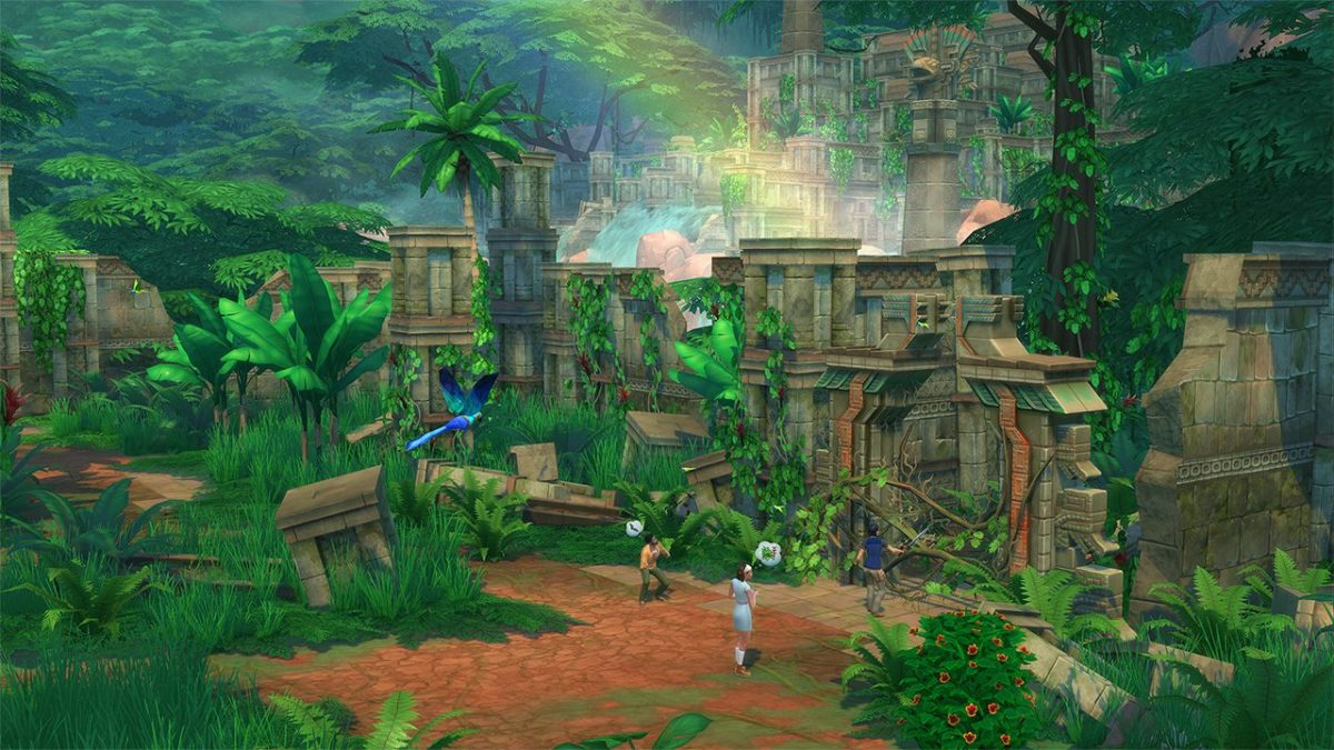 """The Sims 4: Jungle Adventure"""
