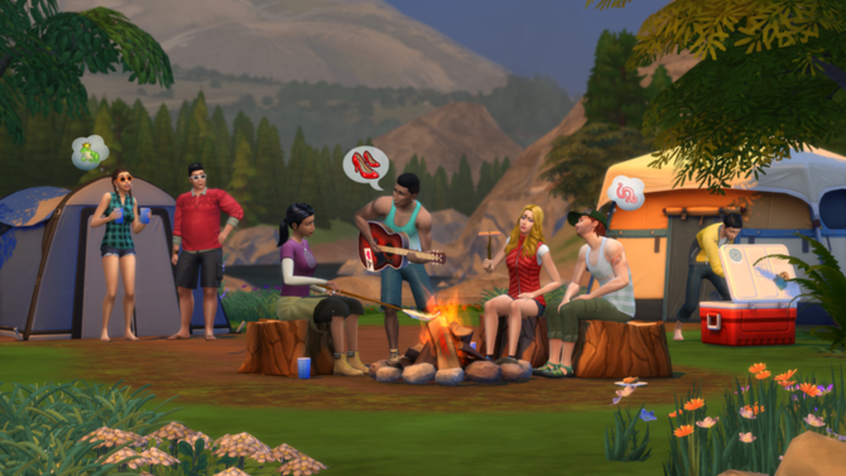 """The Sims 4: Outdoor Retreat"""