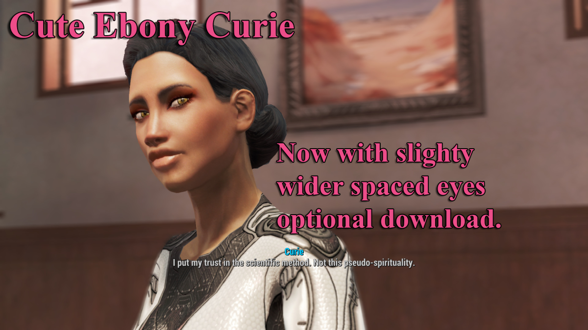The Ebony Curie mod.