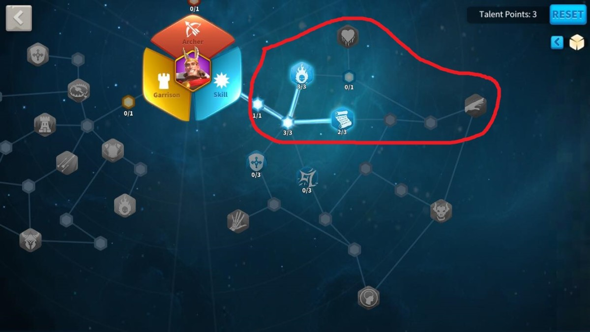 Initial Skill Talents to Unlock in Hermann's Talent Tree