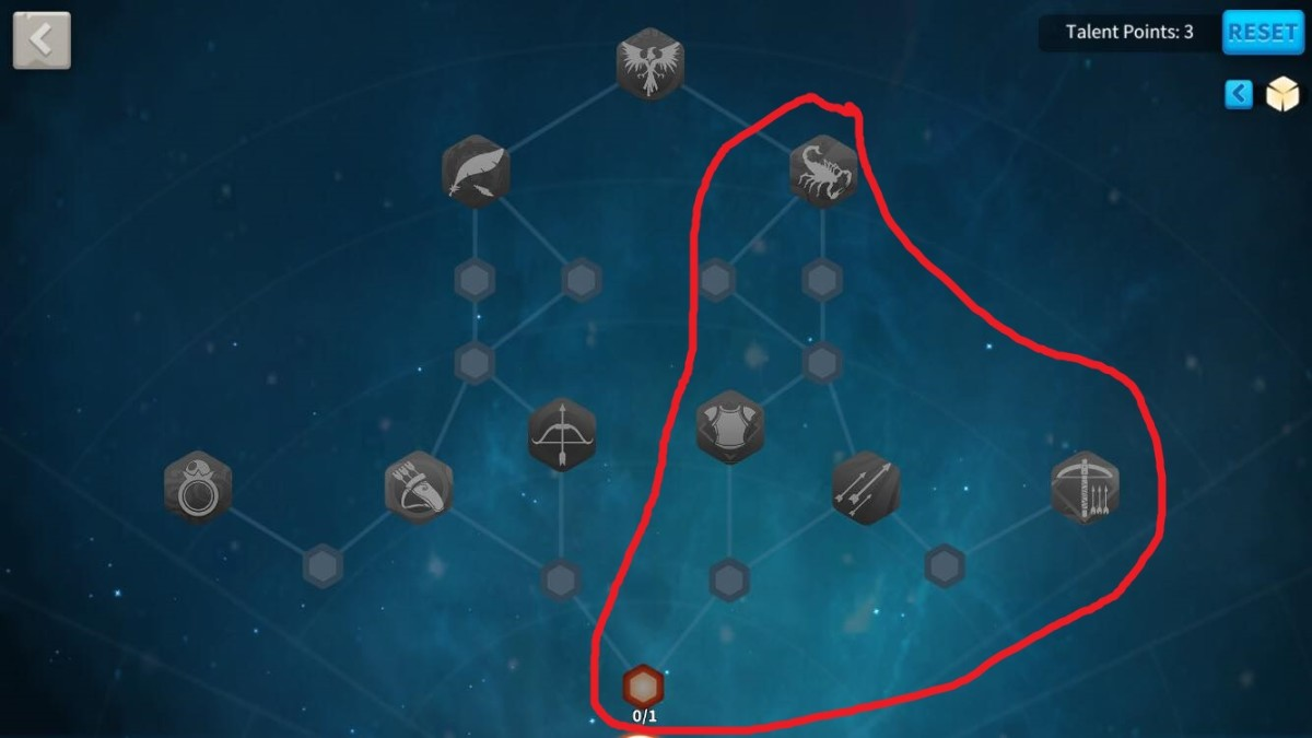 Suggested Archer Talents to Unlock in this Hermann Talent Tree Build Guide