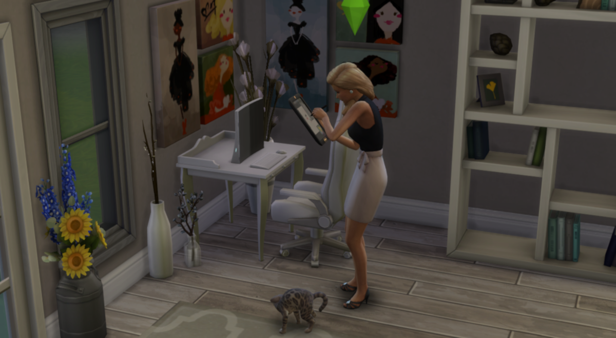 """The Sims 4"" Freelancer Career Guide"