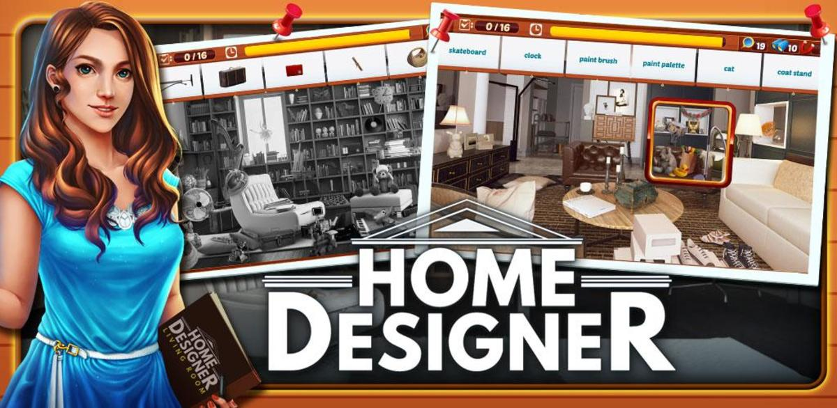 Home Designer is another hidden object and home design game!