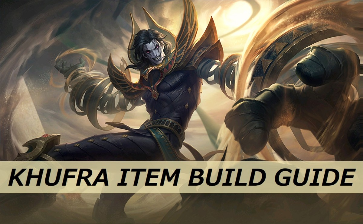 "Get some ideas for good items builds to use for Khufra in ""Mobile Legends: Bang Bang."""
