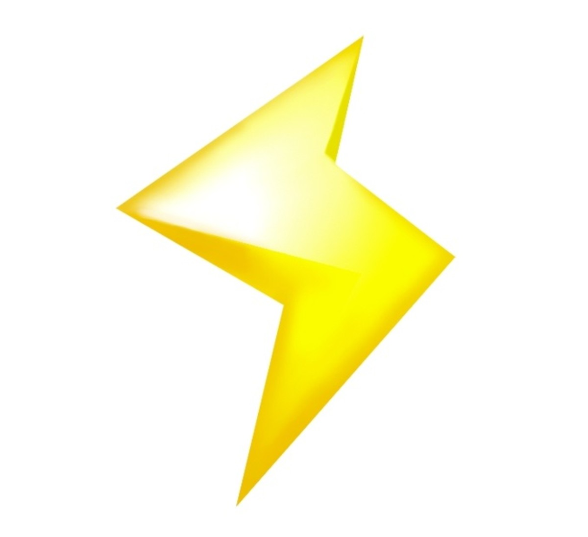 A Lightning Bolt in Mario Kart