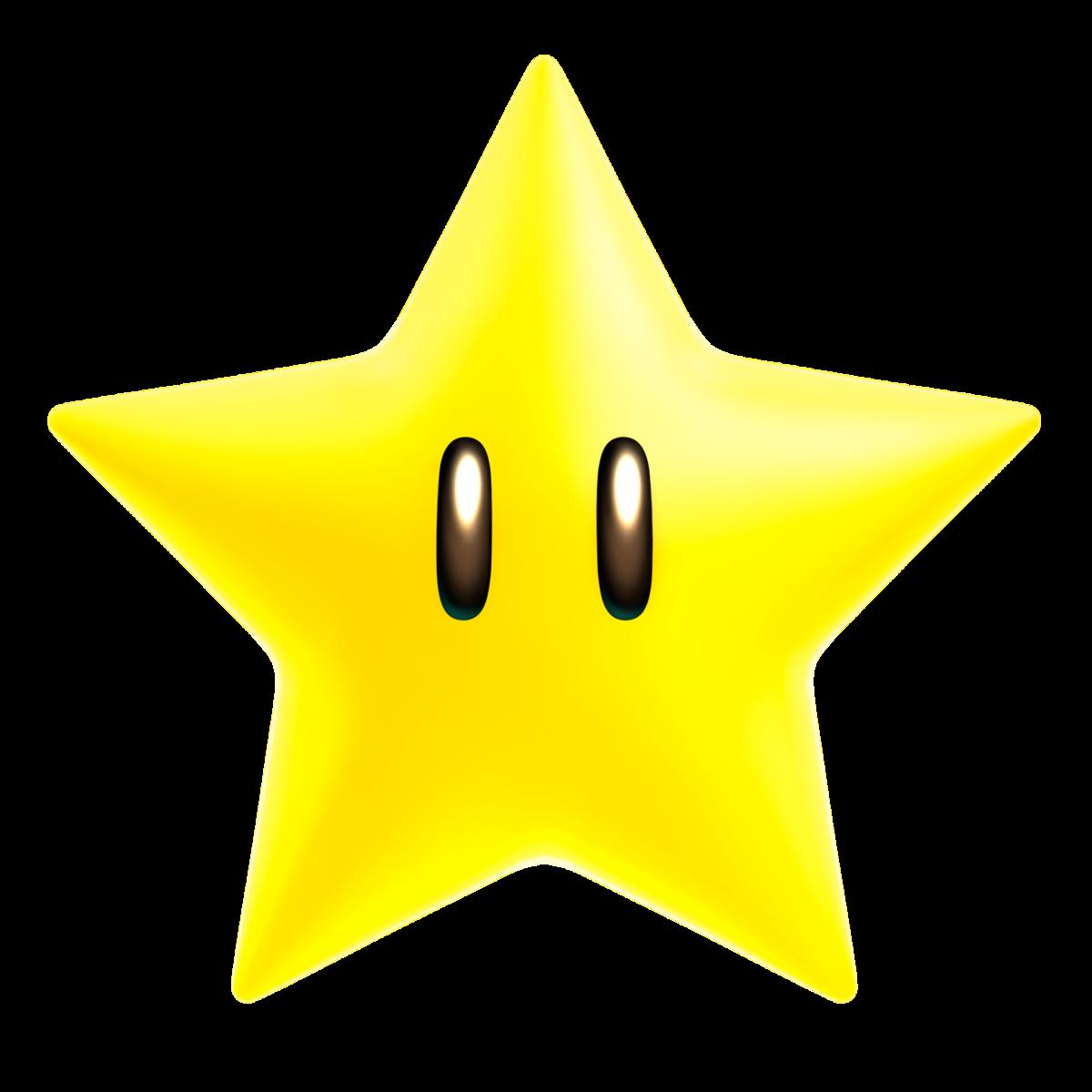 A Starman in Mario Kart