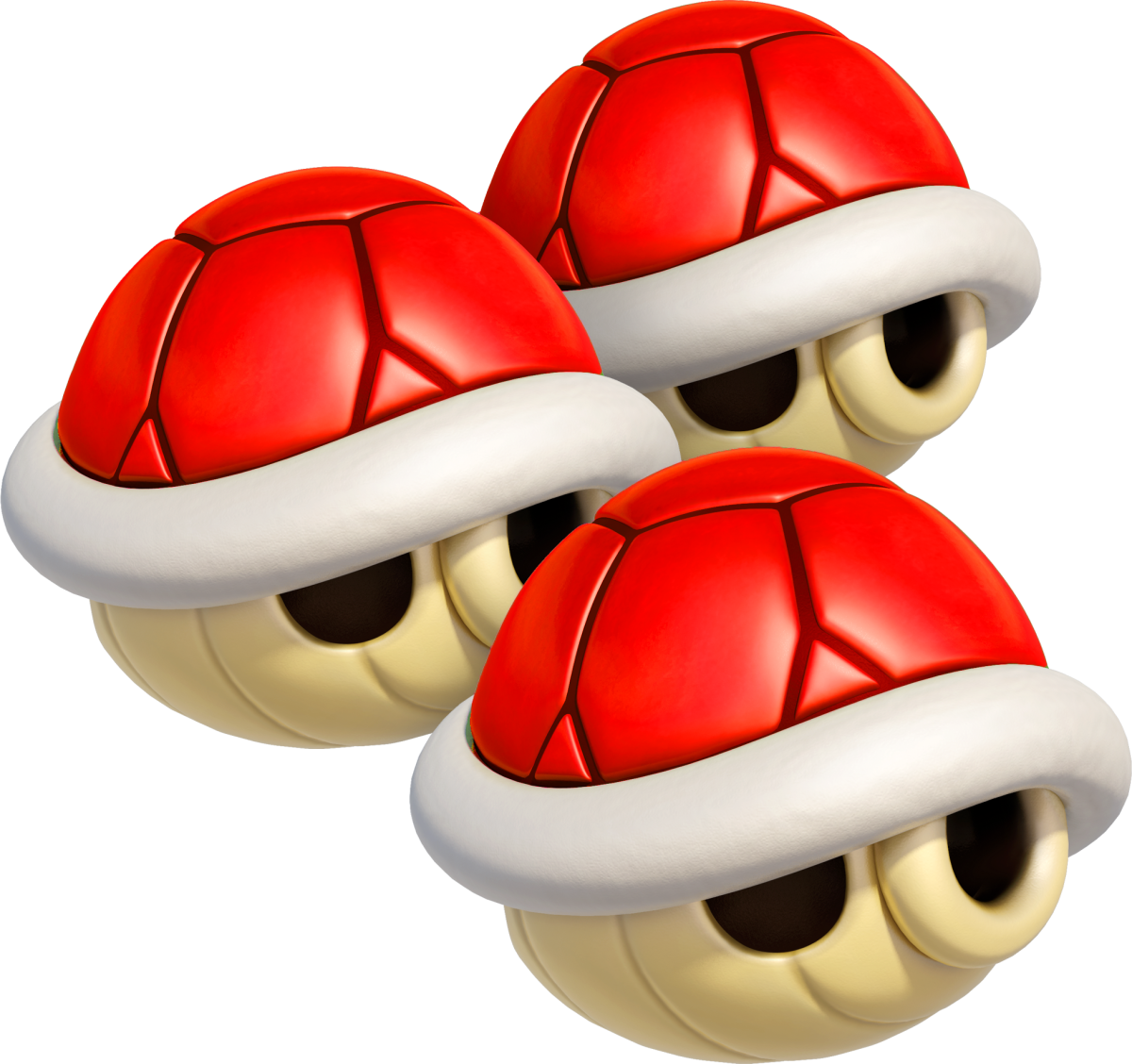 A Triple Red Shell in Mario Kart