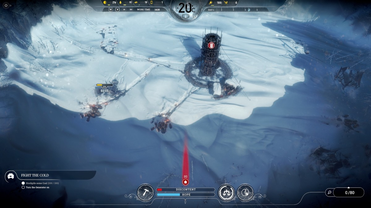 Here's how to survive the first 4 days in Frostpunk.