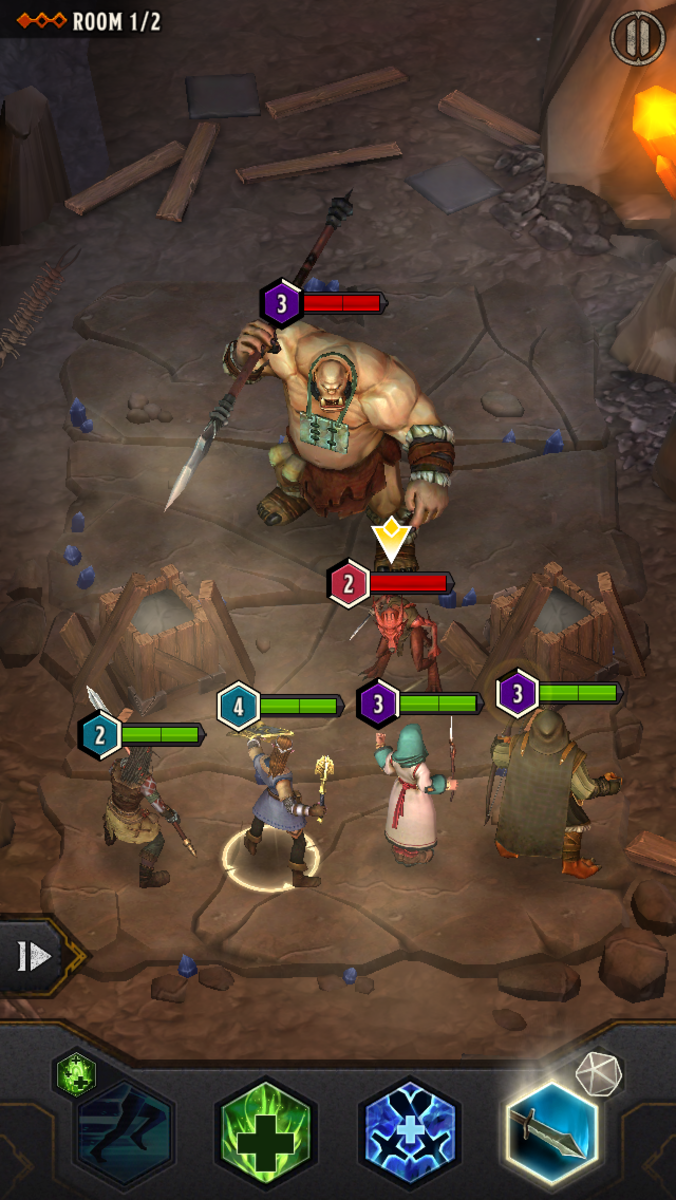 This ogre did not stand a chance.
