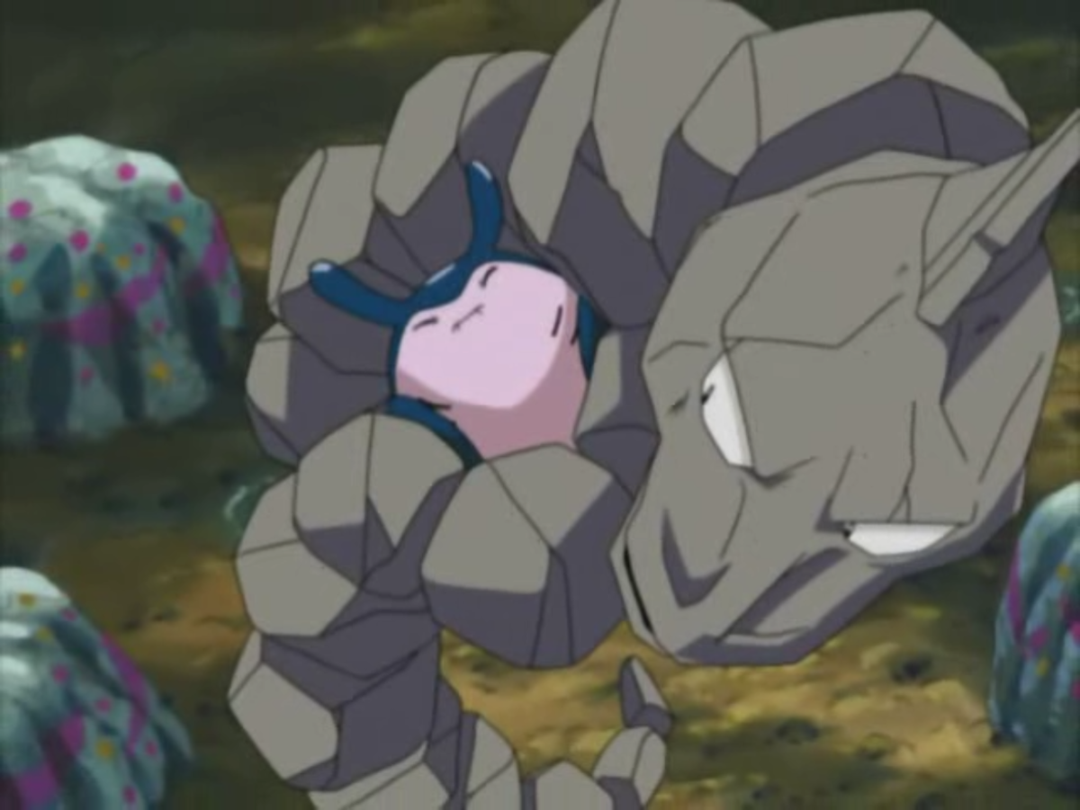 Onix using Bind in Pokemon