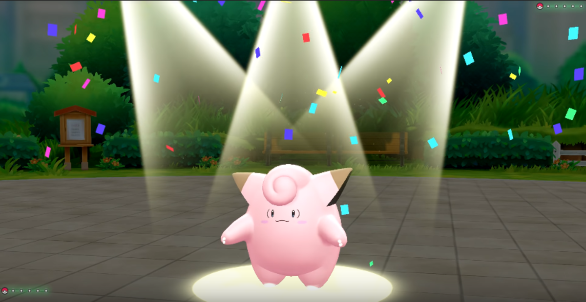 Clefairy using Encore