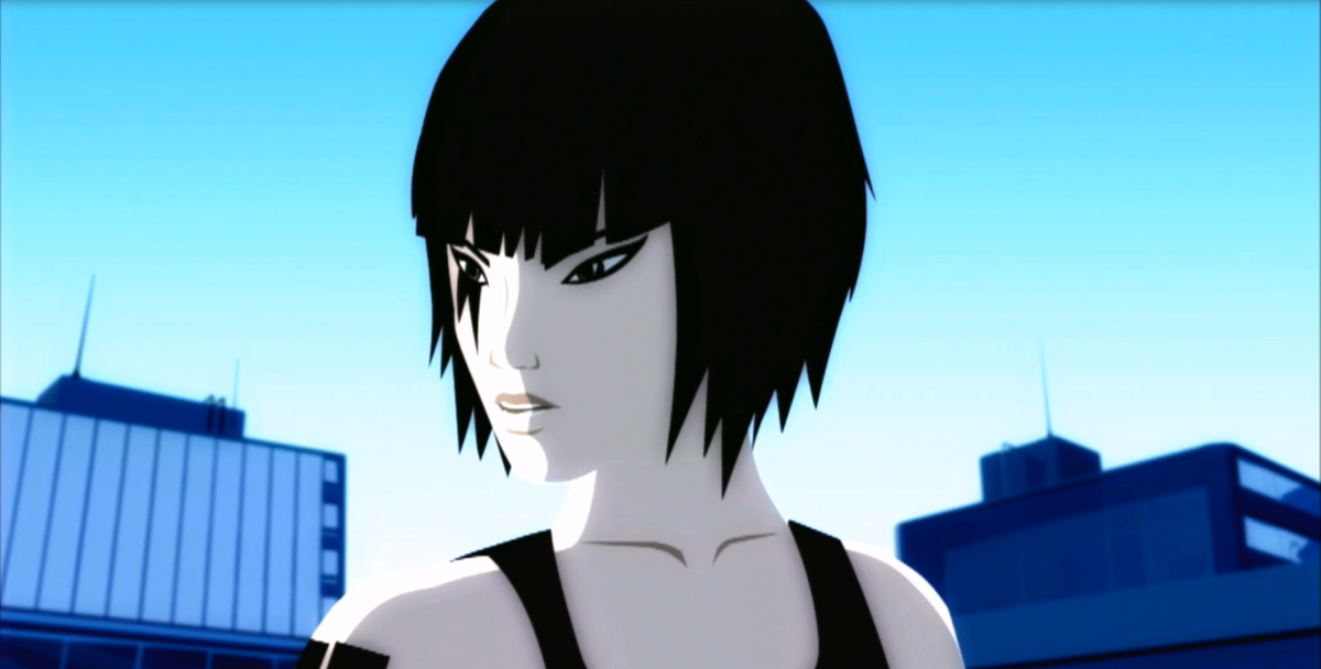 Mirror's Edge utilises a form of stylized animation for its demo scenes that take place in between chapters. This decision received mixed reception from gamers and critics alike.