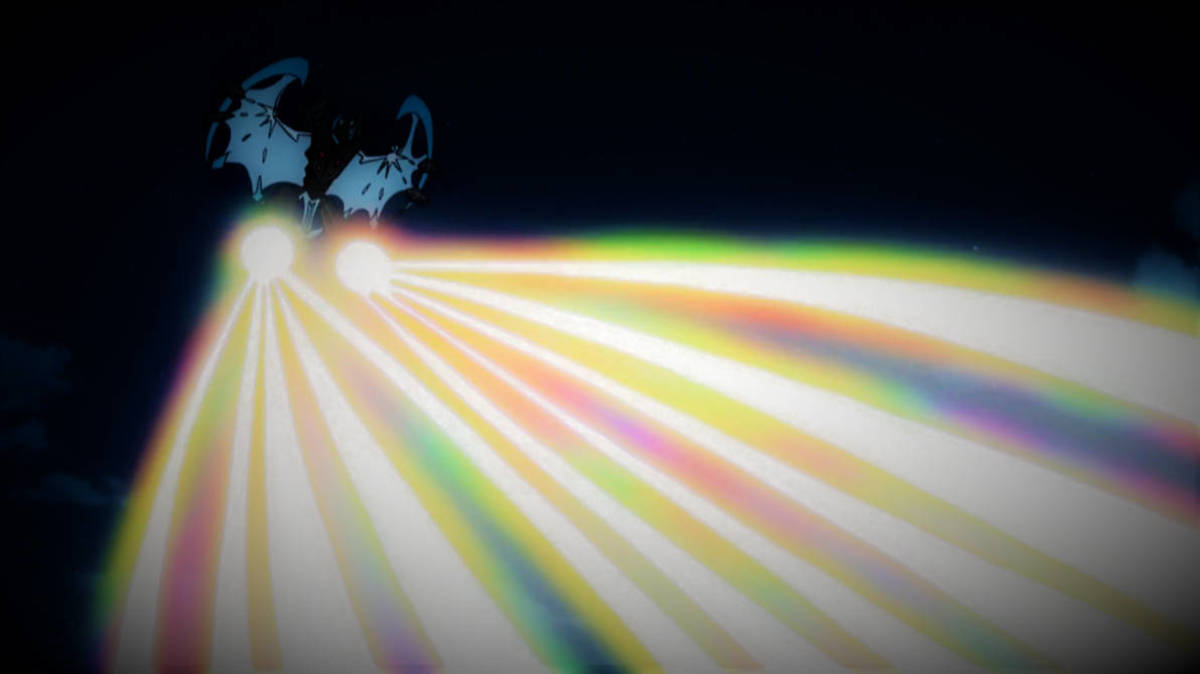 Necrozma's Prismatic Laser