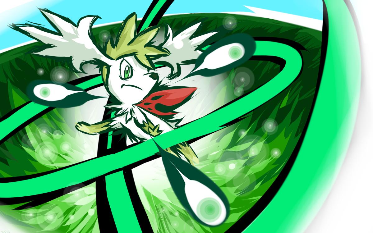 Shaymin's Seed Flare
