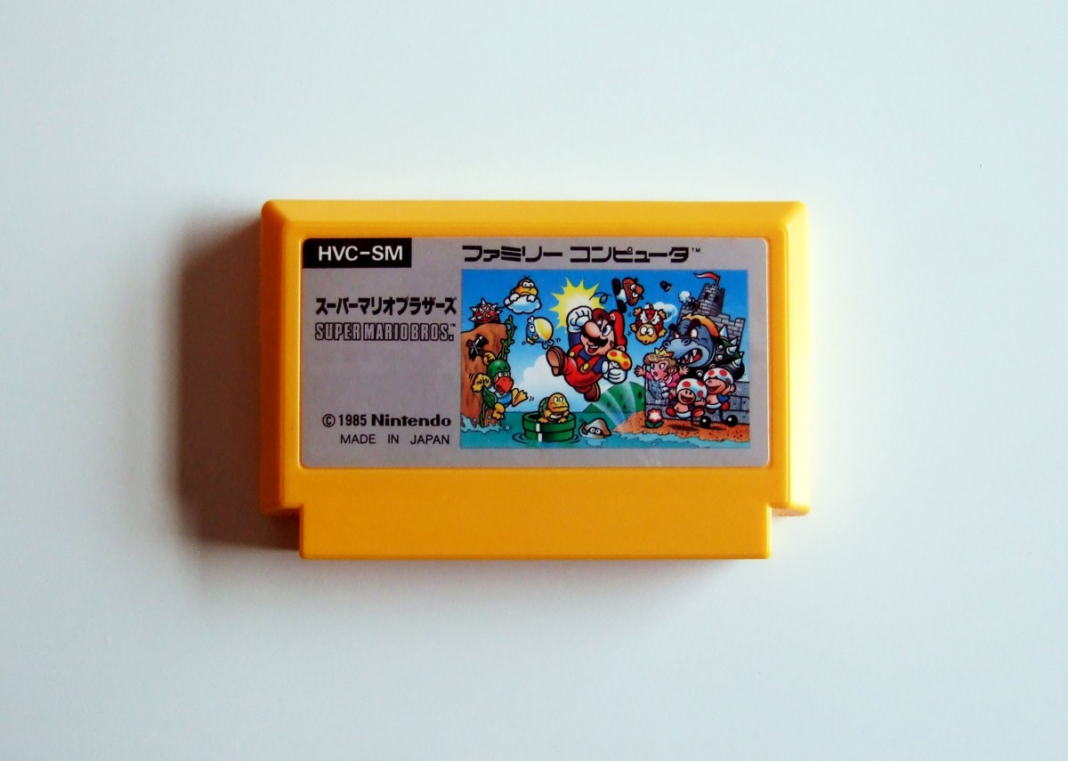 Super Mario Bros. was released for the Family Computer Disk System (Famicom) and the Nintendo Entertainment System (NES).