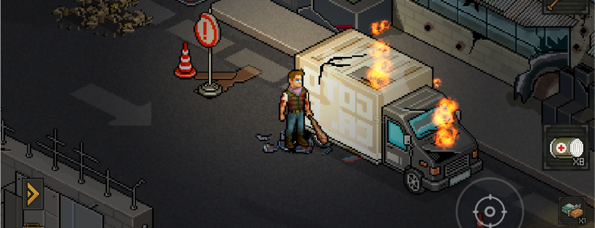 Trucks like these contain loots. Attack them to get the loot.