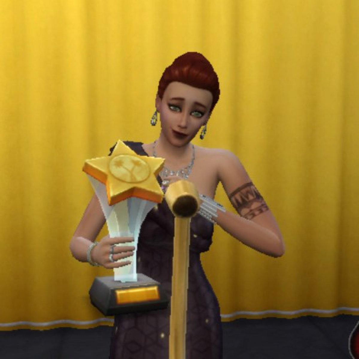 "My Sims Get to Do Things I Never Will. ""I'd like to thank the academy..."""