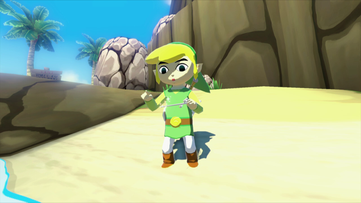 The Wind Waker tool relied heavily on melodies and keeping in rhythm for story progression.