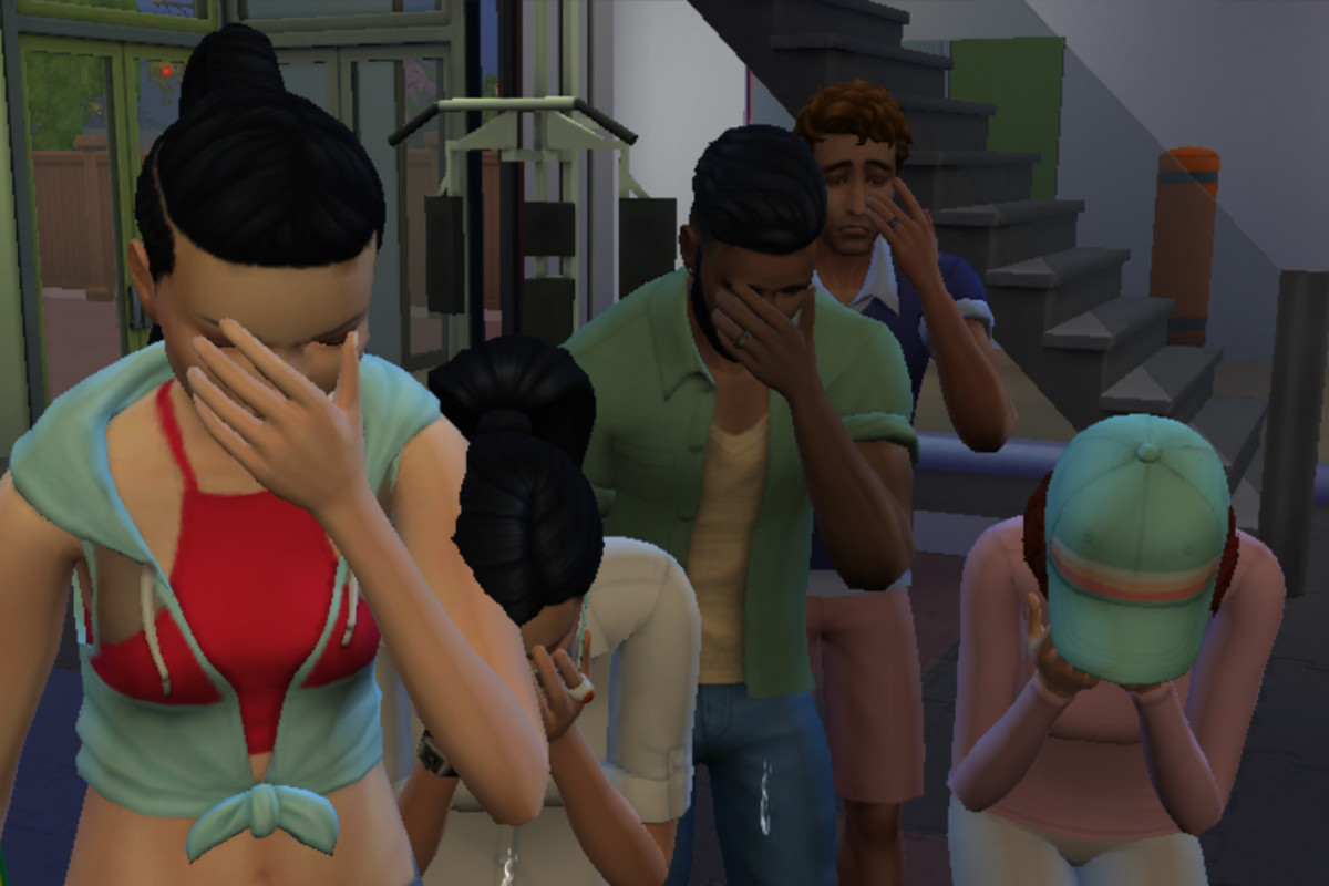 There was a time when Sims ignored the death of anyone who didn't die in their presence. Players complained, so game makers tried to make Sims care more about their dearly departed. Now, Sim mourning is in overdrive.