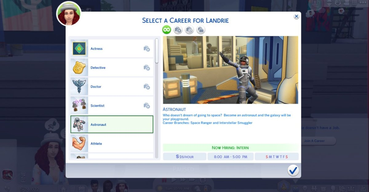 Sims creators add new employment opportunities on occasion, so I'm keeping my fingers crossed.