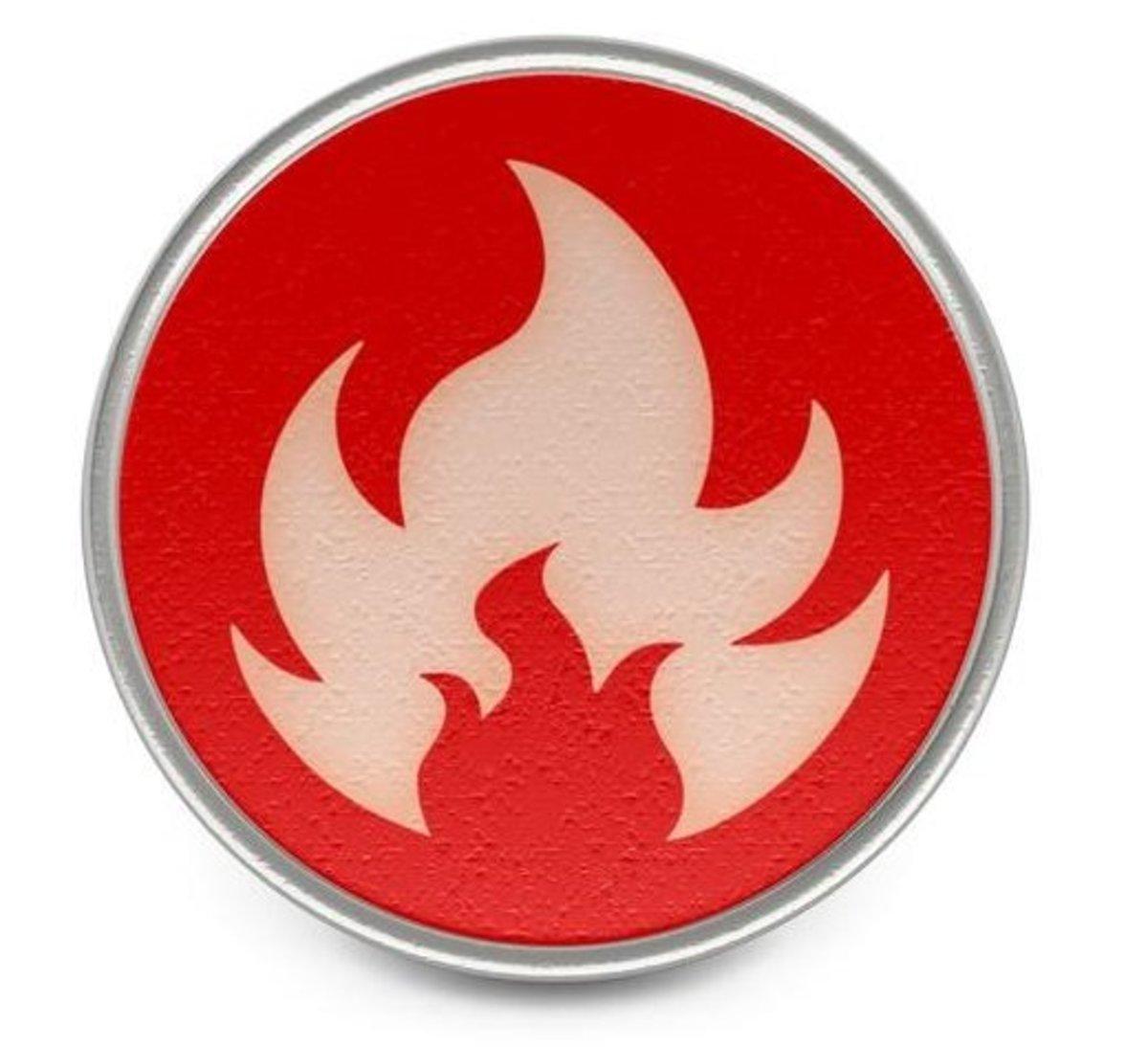 Fire Pokémon logo