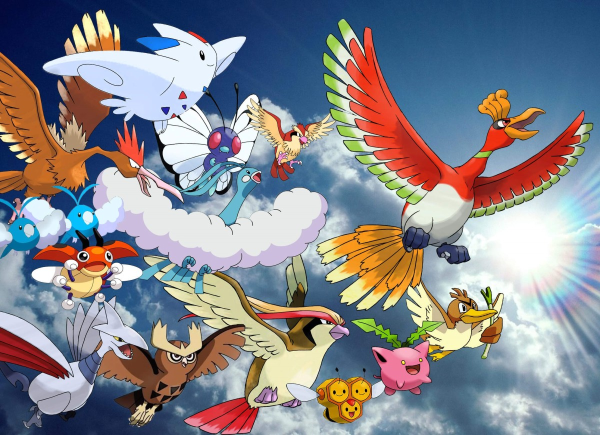 Flying Pokémon