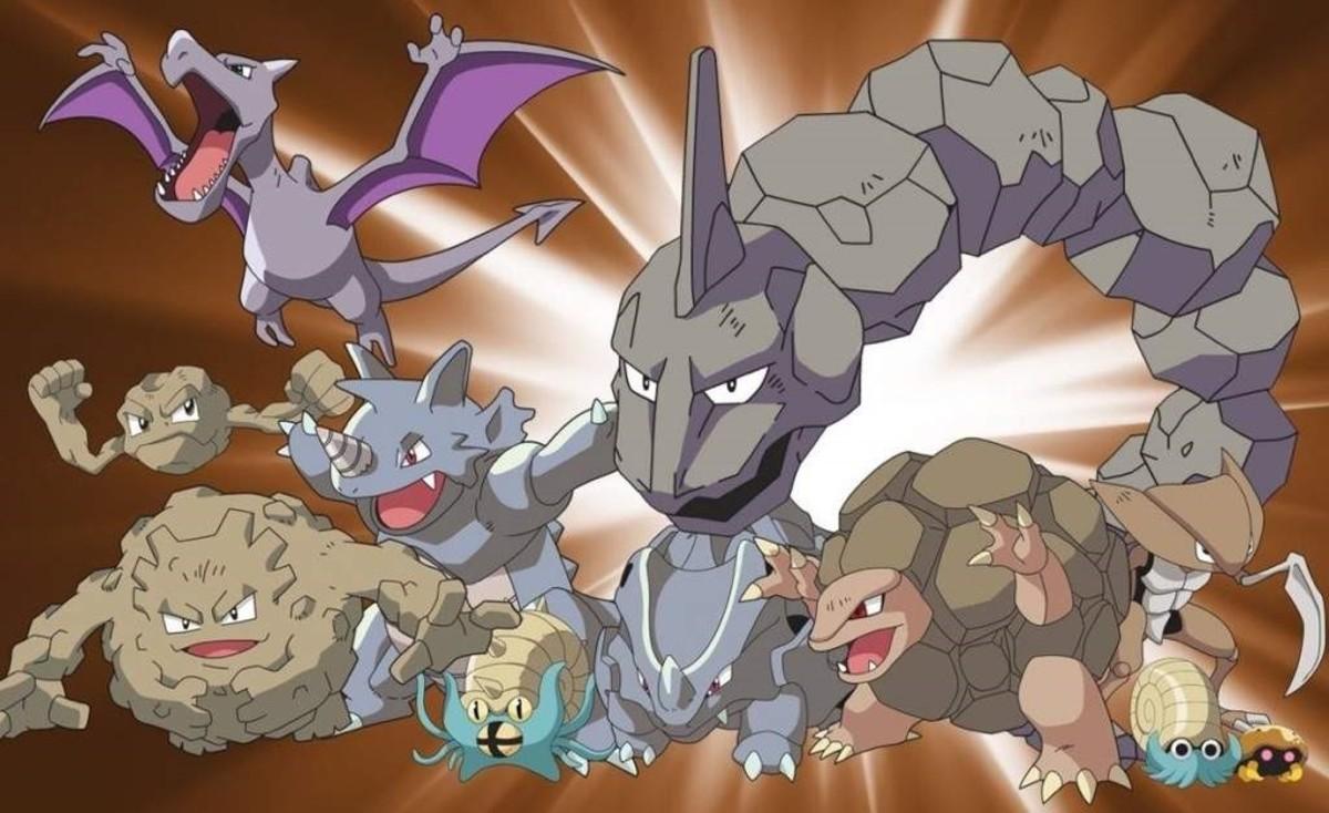 Rock Pokémon