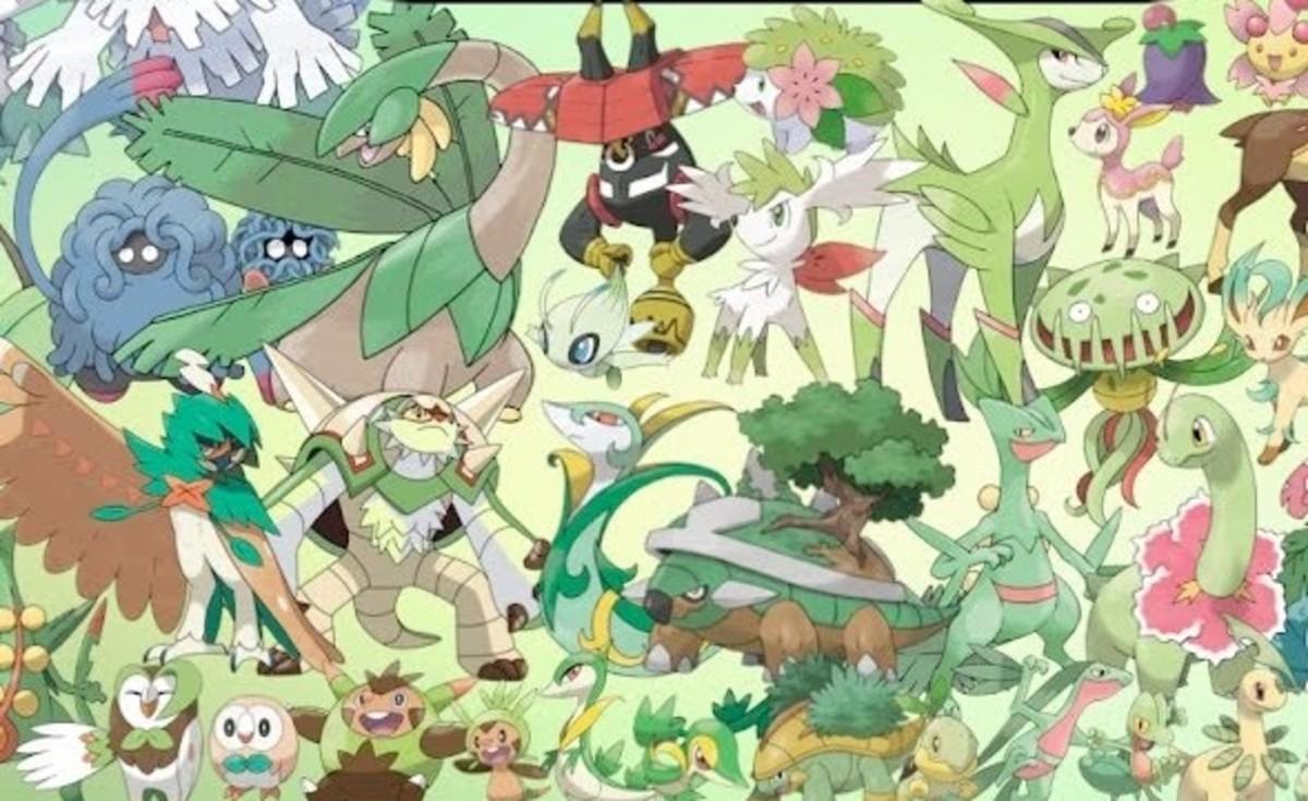 Grass Pokémon