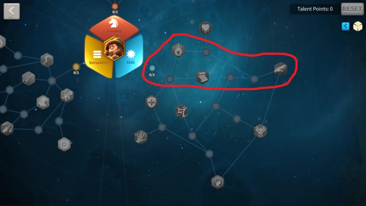 First Talents to Unlock in Genghis Khan's Skill Talent Tree