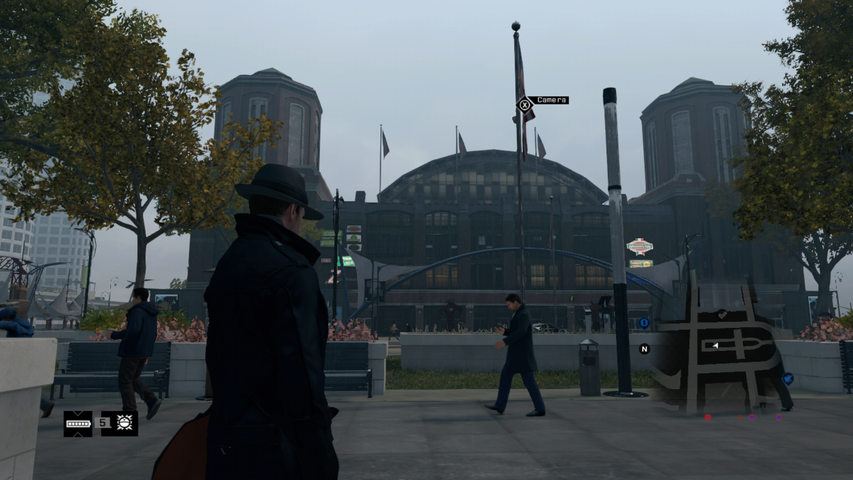 The main Navy Pier Building in game.